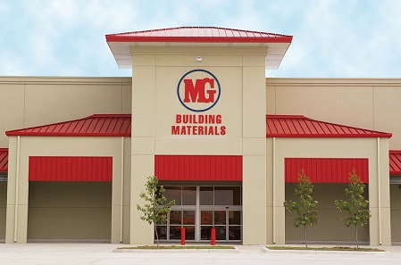 MG Building Materials logo