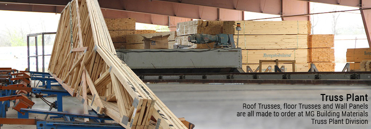 Texas Truss Plant for Roof, floors, & Wall Panels