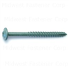 5/16 X 3-1/2  Star Drive Lag Screws Green 0