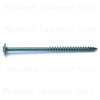 5/16 X 5        Star Drive Lag Screws Green 10lb 0