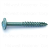 5/16 X 2-1/2  Star Drive Lag Screws Green 0
