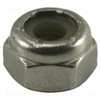 10-24       Lock Nut Nylon Insert Stainless Steel 0