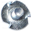 10-24 X 9/32  T-Nut Pronged Zinc 1/pk 0