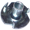 10-24 X 7/16  T-Nut Pronged Zinc 1/pk 0