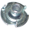 1/4-20 X 5/16 T-Nut Pronged Zinc 1/pk 0
