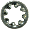 #2    Lock Washer Internal Tooth Zinc 0
