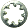 #6    Lock Washer Internal Tooth Zinc 0