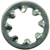 #8    Lock Washer Internal Tooth Zinc 0
