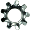 #8    Lock Washer External Tooth Zinc 0
