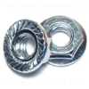 1/4-20   Serrated Flange Lock Nut Zinc 0