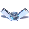 5MM-0.80  Metric Wing Nut Zinc 1/pk 0