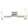 1-1/8 X 1-7/16 Connector Bolt Zinc/White 0