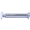 "1-1/2""         Screw Post Alum 0"