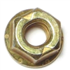 1/4-20             Hex Flange Lock Nut Grade 8 Yellow Zinc 1/pk 0