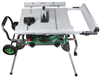 "Table Saw Hitachi C10RJ H/Duty 10"" 15A Comes With A Stand! 0"
