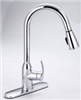 Faucet Banner Kitchen 1 Handle Pull Down Spray Chrome TP972PD 0
