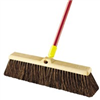 "Broom-Push w/ Handle 24"" Bulldozer Rough Surfaces 00536 0"