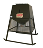 Deer Feeder 1000Lb Broadcast Stand & Fill w/ Cage, Solar Panel, Timer & Battery 0