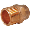 "Copper Fitting .50"" Male Adapter 30310 0"