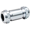 "Galvanized Compression Coupling .50"" 0"