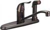 "Faucet Banner Kitchen 1 Handle Oil Rubbed Bronze w/ Spray & 32""Supply Lines 992-Orb 0"