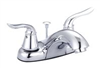 Faucet Banner Lavatory 2 Handle Brushed Nickel W/Pop Up T216-B 0