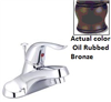 "Faucet Banner Lavatory 1 Handle Oil Rubbed Bronze W/Pop Up & 20""Supply Lines 902-B 0"