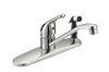 Faucet Banner Kitchen 1 Handle Chrome With Spray 573 0
