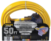 Extension Cord 12/3 3-Outlet 50' Powerzone ORP611830 0
