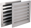 "Vent 18""X24"" Rectangular Metal Louvered Vf1824 0"
