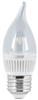 Bulb-Chandelier Led 3W   Flame Med  2Pk 3000K Dimmable Bpefc/Dm/160/Led/2 0