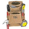 Tool Bag 10Pockt Leather Nail&Tool I923X 0