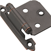 Cabinet Hinge Flush Oil Rubbed Bronze Self Closing Bp3429 0