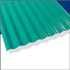 Corrugated Roofing*12' Palruf Green Pvc 0