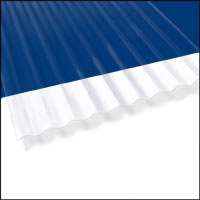Shop Corrugated Roofing 8 Ft Palruf Clear Pvc Mg Building Materials Tx
