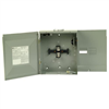 125 Amp 4-Space 4-Circuit Outdoor Main Breaker Box CH4L125RP 0