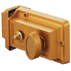 Deadbolt Brass Night Auxilary U9967 0