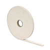 Foam Tape 3/16X3/8X17' White High Density 02733 0