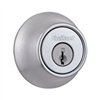 Deadbolt Kwikset Deadbolt Satin Chrome Single Cylinder 660Cpus26 0
