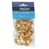 "Grommets 1/2"" Brass Plated 25 Pc 0"