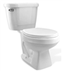 Toilet Import White 1.28Gpf Elongated Combo Kit 3662jb 0