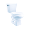 Toilet Import White 1.28Gpf Elongated Oxford Fluted Combo Kit    Tag Reads==> J601011/J1007011120 0