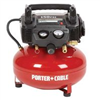 Air Compressor Porter Cable 6 Gallon Pancake 150 C2002 0