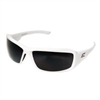 Safety Glasses Brazeau Polarized Smoke Lens White Frame Txb246 0