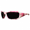 Safety Glasses Brazeau Huntress Pink Camo / Smoke Lens Xb116-H1 0