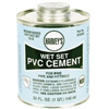 Cement Pvc 32Oz Wet Set Blue 018430 0
