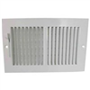 "Register-Sidewall 10""X6"" White Sw02-10X6 382W10X6R 0"
