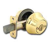 Deadbolt Kwikset Deadbolt Polished Brass Double Cylinder 665Cpus3K2 0