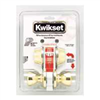 Deadbolt & Lockset Kwikset Tylo Polished Brass Knob & Double Cylinder Deadbolt 695Tus3 0