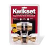 Deadbolt & Lockset Kwikset Tylo Antique Brass Knob & Double Cylinder Deadbolt 695Tus5 0